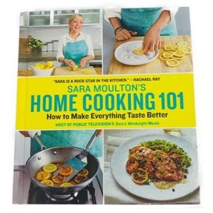 Cookbook Coffee Table Book Cooking 101 Moulton